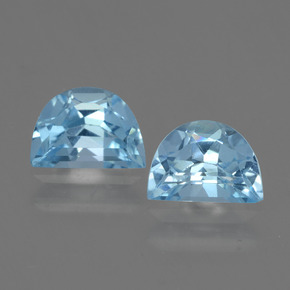 Swiss Blue Topaz Gem - 1ct Fancy Facet (ID: 433093)