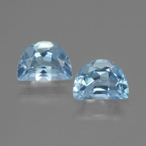 Swiss Blue Topaz Gem - 0.8ct Fancy Facet (ID: 433155)