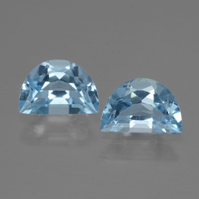 Swiss Blue Topaz Gem - 0.9ct Fancy Facet (ID: 433161)