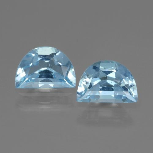 Swiss Blue Topaz Gem - 0.9ct Fancy Facet (ID: 433164)