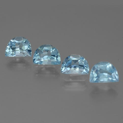 Swiss Blue Topaz Gem - 1ct Fancy Facet (ID: 433385)