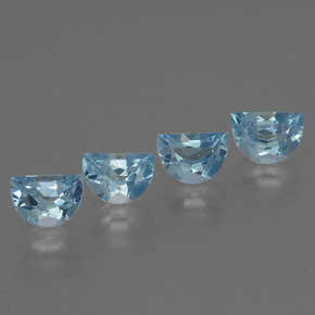 Swiss Blue Topaz Gem - 1ct Fancy Facet (ID: 433386)