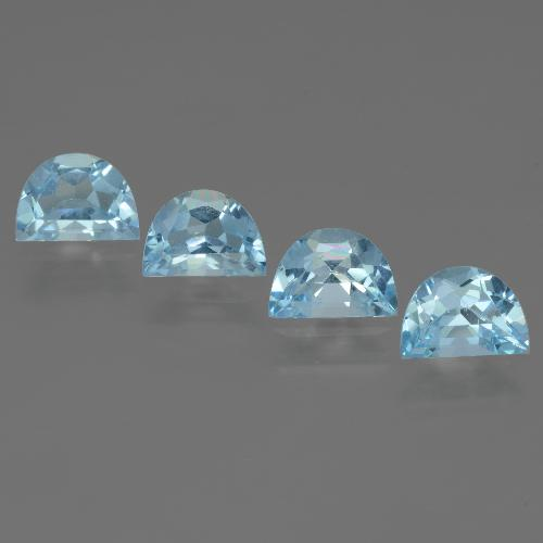 Swiss Blue Topaz Gem - 0.9ct Fancy Facet (ID: 433442)