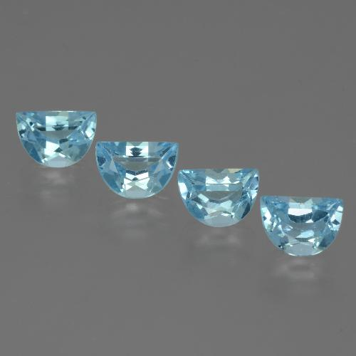 Swiss Blue Topaz Gem - 0.9ct Fancy Facet (ID: 433449)
