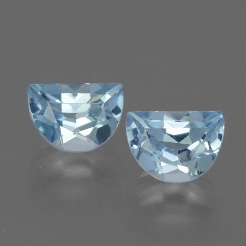 Swiss Blue Topaz Gem - 1.1ct Fancy Facet (ID: 433472)
