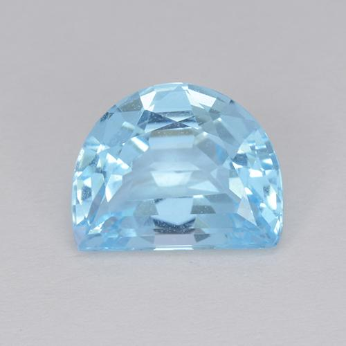 Swiss Blue Topaz Gem - 3.5ct Fancy Facet (ID: 434318)