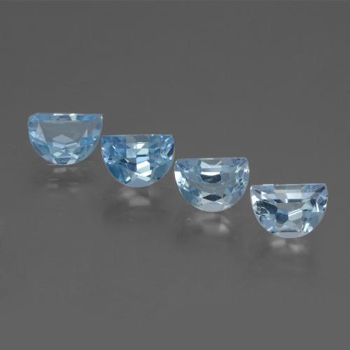 Swiss Blue Topaz Gem - 0.9ct Fancy Facet (ID: 434416)