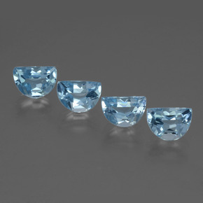 Swiss Blue Topaz Gem - 1ct Fancy Facet (ID: 434417)