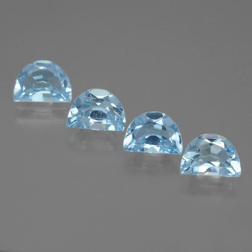 Swiss Blue Topaz Gem - 0.9ct Fancy Facet (ID: 434583)