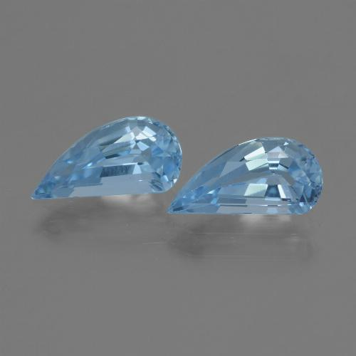 Swiss Blue Topaz Gem - 1.3ct Fancy Facet (ID: 436062)