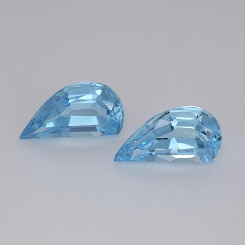 Swiss Blue Topaz Gem - 1.4ct Fancy Facet (ID: 436064)
