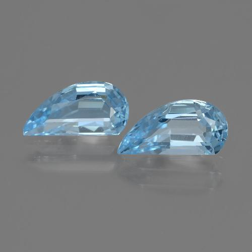 Sky Blue Topaz Gem - 1.4ct Fancy Facet (ID: 436248)