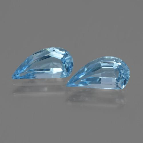 Swiss Blue Topaz Gem - 1.4ct Fancy Facet (ID: 436253)