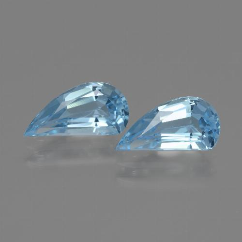 Swiss Blue Topaz Gem - 1.3ct Fancy Facet (ID: 436390)