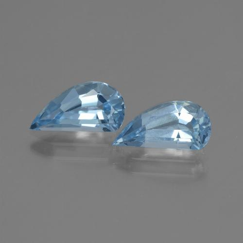 Swiss Blue Topaz Gem - 1.4ct Fancy Facet (ID: 436392)