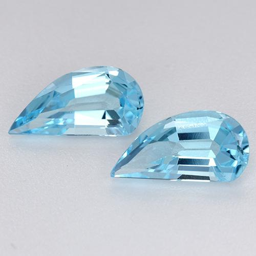 Swiss Blue Topaz Gem - 1.3ct Fancy Facet (ID: 436393)