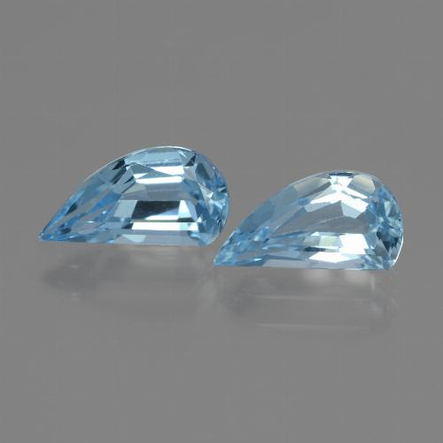 Swiss Blue Topaz Gem - 1.5ct Fancy Facet (ID: 436394)