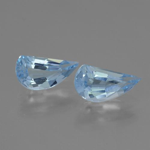 Swiss Blue Topaz Gem - 1.4ct Fancy Facet (ID: 436782)