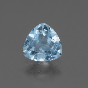 Sky Blue Topaz Gem - 1.4ct Trillion Facet (ID: 436844)