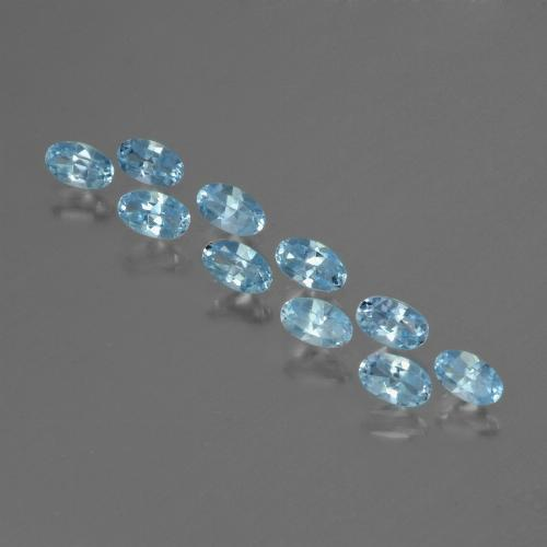 thumb image of 2.8ct Oval Facet Swiss Blue Topaz (ID: 436879)
