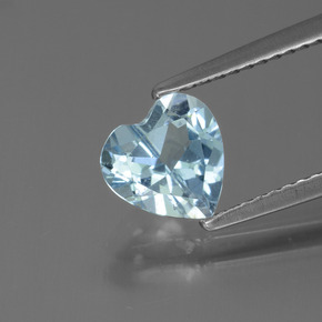 thumb image of 1.3ct Heart Facet Sky Blue Topaz (ID: 437201)