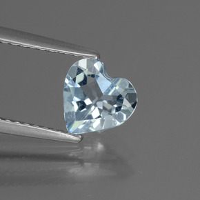 thumb image of 1.1ct Heart Facet Sky Blue Topaz (ID: 437202)