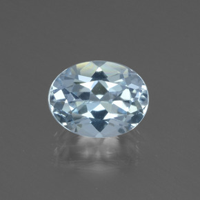 Light Sky Blue Topazio Gem - 2.1ct Ovale sfaccettato (ID: 437357)