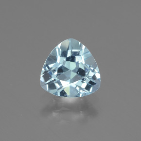 1.3ct Trillion Facet Sky Blue Topaz Gem (ID: 437521)