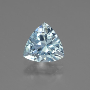 Sky Blue Topaz Gem - 1.6ct Trillion Facet (ID: 437523)