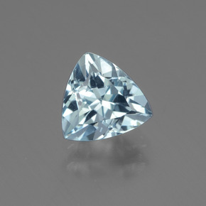 1.3ct Trillion Facet Sky Blue Topaz Gem (ID: 437525)