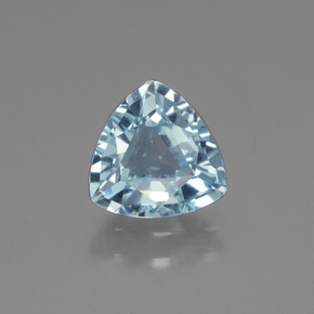 1.3ct Trillion Facet Sky Blue Topaz Gem (ID: 437528)