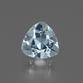 1.4ct Trillion Facet Sky Blue Topaz Gem (ID: 437614)