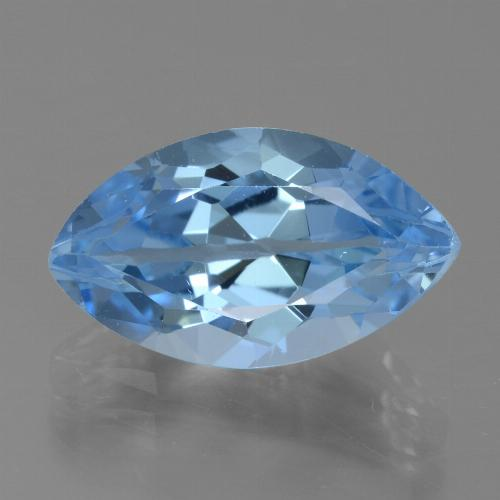 Swiss Blue Topaz Gem - 5.3ct Marquise Facet (ID: 438775)
