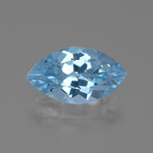 Swiss Blue Topaz Gem - 4.2ct Marquise Facet (ID: 438845)