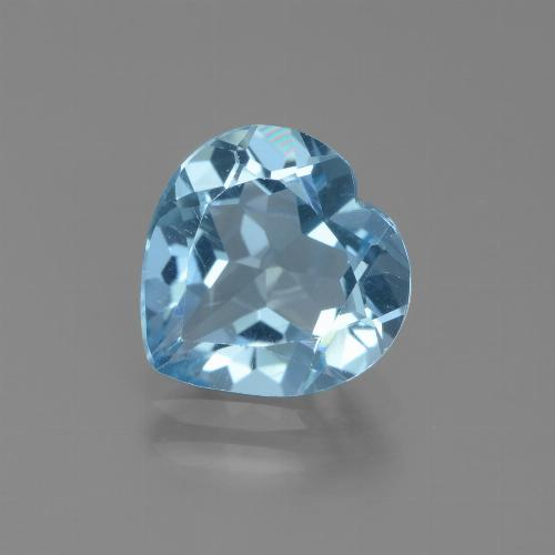 2.7ct Heart Facet Sky Blue Topaz Gem (ID: 439336)