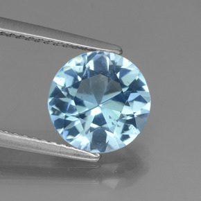 Swiss Blue Topaz Gem - 2.9ct Diamond-Cut (ID: 440241)