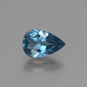 thumb image of 1.4ct Pear Facet London Blue Topaz (ID: 442296)