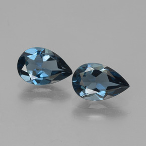 thumb image of 2.5ct Pear Facet London Blue Topaz (ID: 442512)