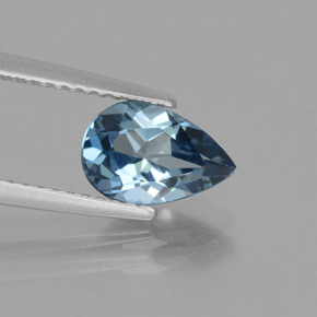 thumb image of 1.6ct Pear Facet London Blue Topaz (ID: 442595)