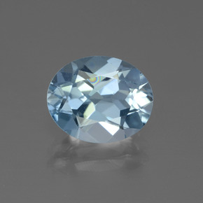 Sky Blue Topaz Gem - 4.3ct Oval Facet (ID: 442654)