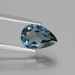 thumb image of 1.4ct Pear Facet London Blue Topaz (ID: 442673)
