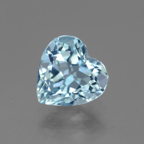2.8ct Heart Facet Sky Blue Topaz Gem (ID: 442996)
