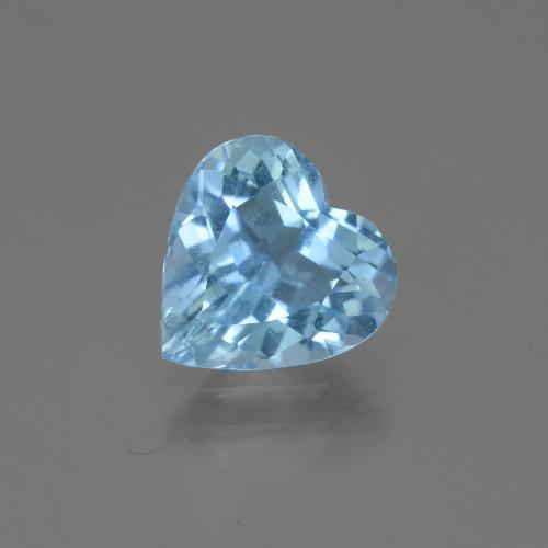 2.6ct Heart Facet Sky Blue Topaz Gem (ID: 443046)