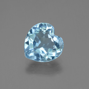 2.7ct Heart Facet Sky Blue Topaz Gem (ID: 443053)