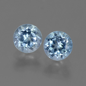 Swiss Blue Topaz Gem - 1.1ct Round Facet (ID: 444953)