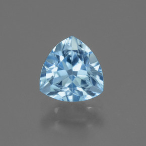Swiss Blue Topaz Gem - 1.7ct Trillion Facet (ID: 446134)