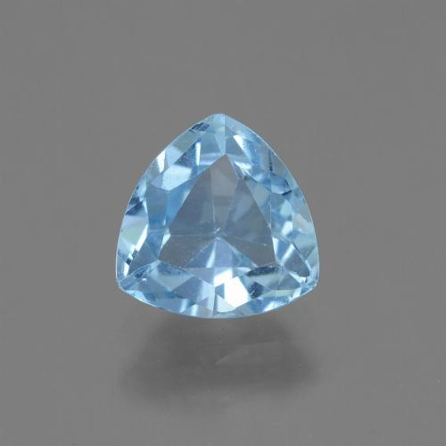 Swiss Blue Topaz Gem - 1.6ct Trillion Facet (ID: 446138)