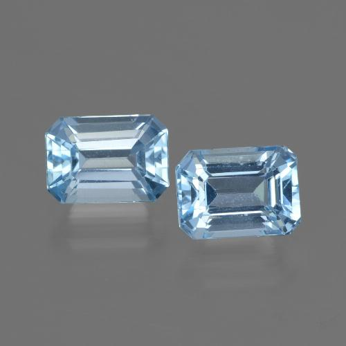 Swiss Blue Topaz Gem - 1.4ct Octagon Step Cut (ID: 448094)