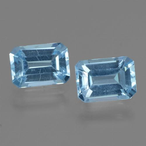 Swiss Blue Topaz Gem - 1.3ct Octagon Step Cut (ID: 448163)