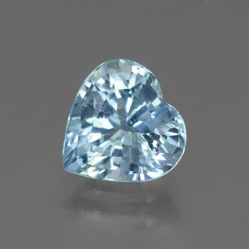 2.7ct Heart Facet Sky Blue Topaz Gem (ID: 448395)